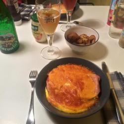 En ayant suivi la recette de l'Amicale, il manquait un peu de fromage